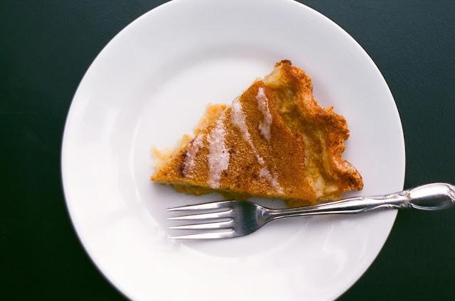Delicata Squash Pie slice