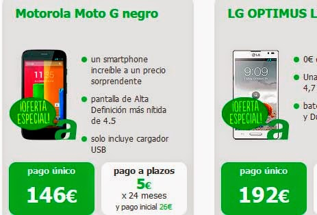 Ofertas móviles Amena en abril 2014