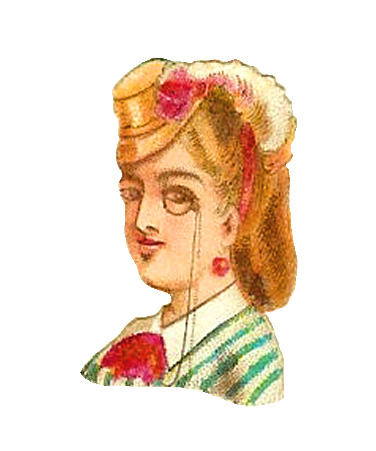 vintage hat clipart - photo #35