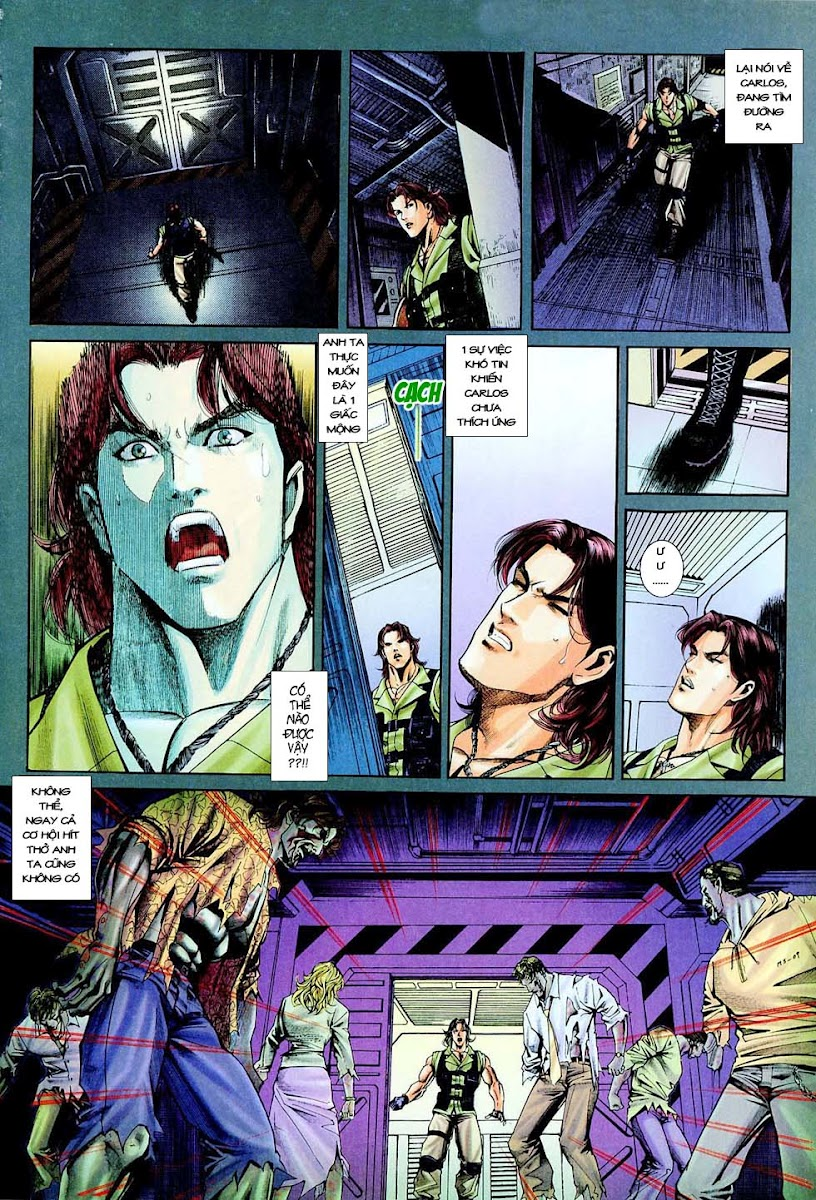 Resident Evil 3 chap 4 - Trang 15