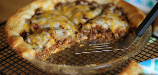 ground venison recipe cooked taco pie easy