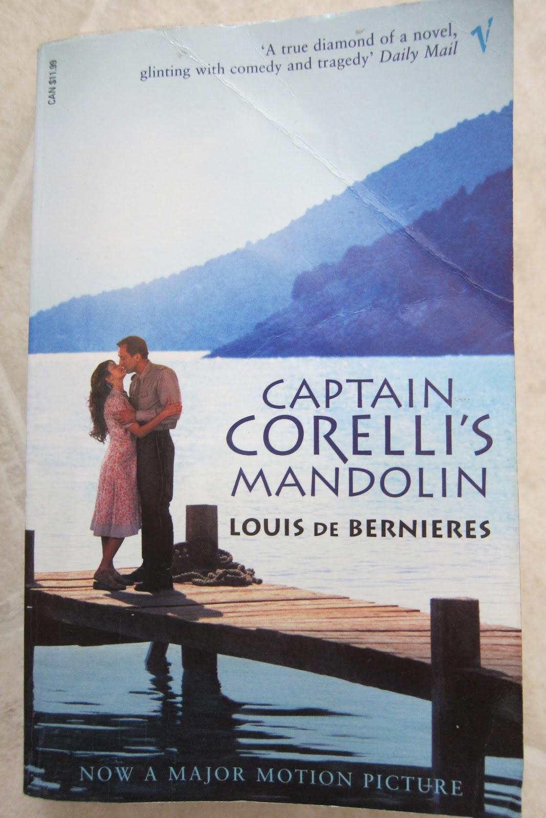 captain corellis mandolin essay Louis de bernières' novel captain corelli's mandolin essay , the two sides to every greek: hellene vs romoi 1844 words 8 pages louis de bernieres's novel.