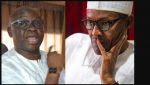 For since two years me and Buhari Have Not Spoken Says Fayose