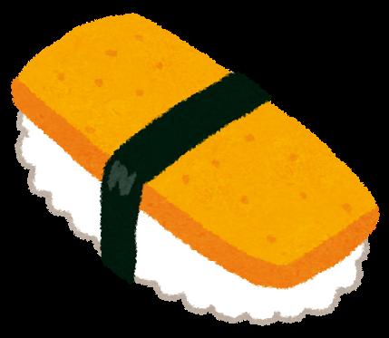 海苔で巻かれた玉子の握り寿司 ... : 七夕 短冊 素材 : 七夕