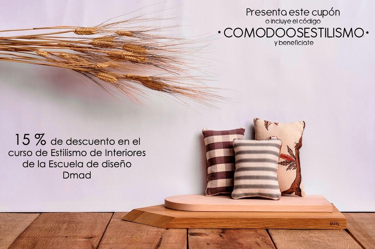 Comodoos interiores tu blog de decoracion curso de for Escuela de diseno de interiores madrid