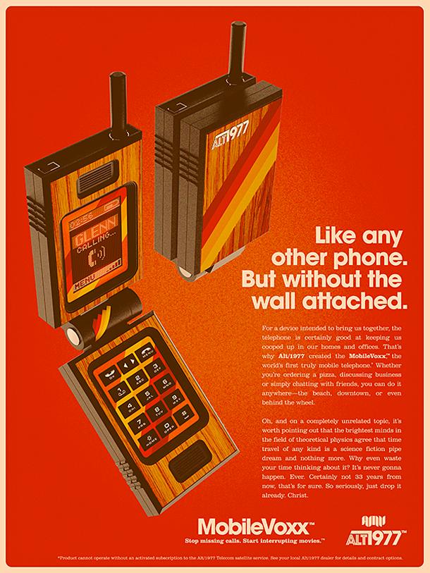 Alt1977 - Anuncios vintage (anos 70) para produtos modernos
