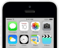 iPhone 5C UI