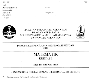 matematik scribd kertas soalan matematik free download or readfalse