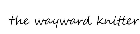 The Wayward Knitter