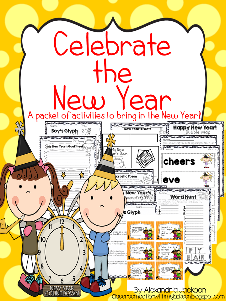 http://www.teacherspayteachers.com/Product/New-Years-Activities-1605987#