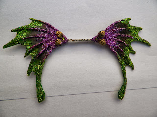 One of a kind fairy wings. Property of Cassie's Creative Crafts
