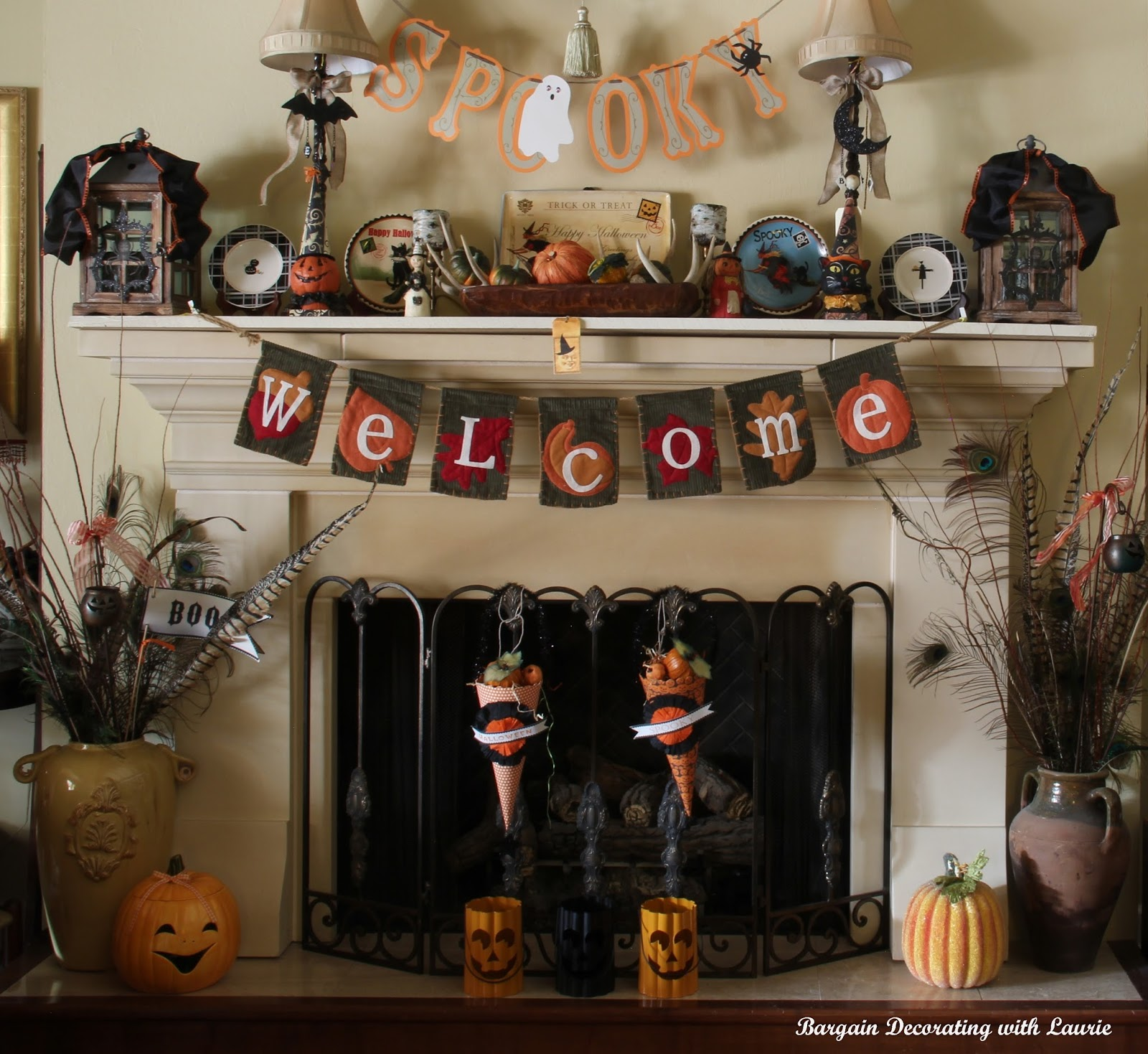 Bargain Decorating With Laurie Adding The Halloween To Fall