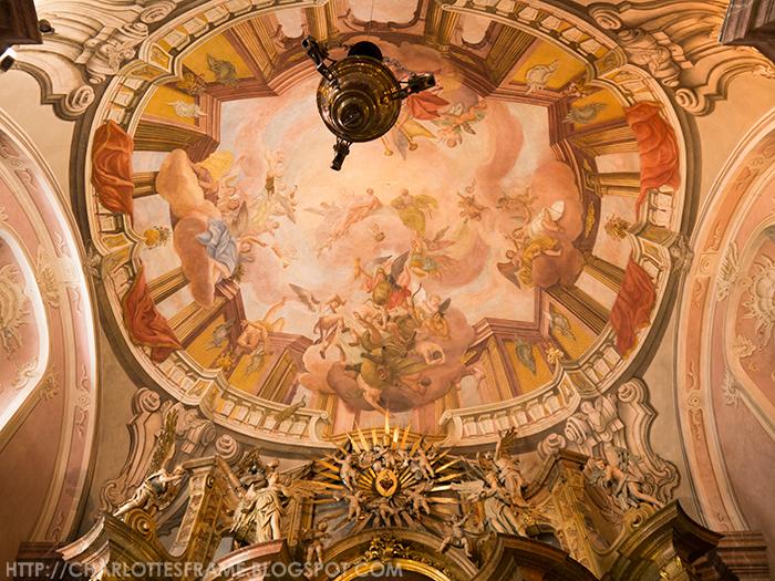 Congregatio Jesu Church ceiling, Congregatio Jesu paintings