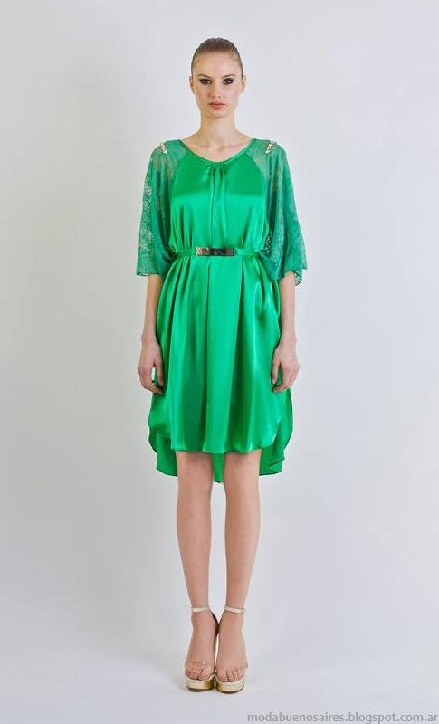 Vestidos de fiesta moda 2014. Natalia Antolin verano 2014.