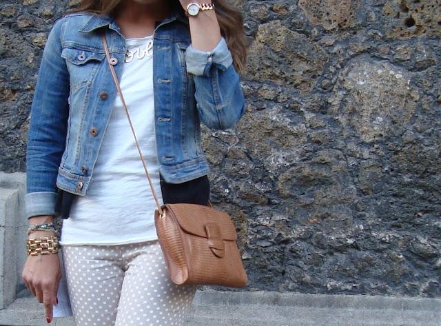 outfit pantaloni pois, stylegram