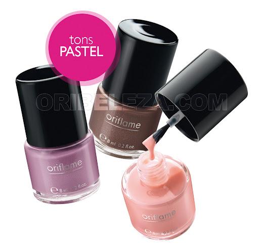 Vernizes Oriflame Pure Colour - Tons Pastel
