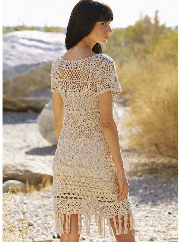Crochet Dress : Outstanding Crochet: Two crochet dresses.
