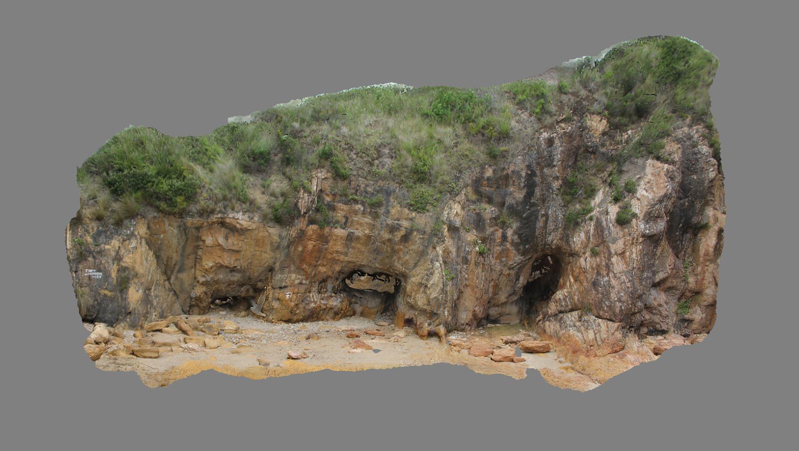 Geophotology: Tomakin Turquoise Mine NSW Australia, Close Range ...