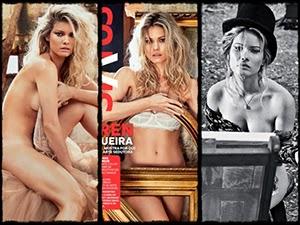 Karen Junqueira Nua Na Revista Status De Novembro 2014