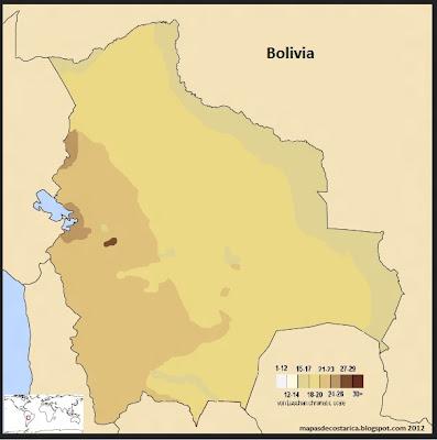 Mapa de la Composición Étnica de Bolivia