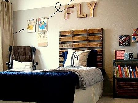Cabeceras recicladas decoraci n ecol gica - Dormitorios reciclados ...