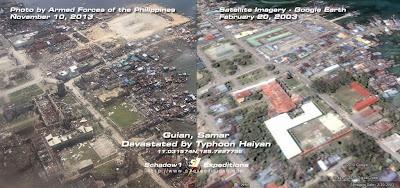 Yolanda Haiyan Typhoon Devastation Guiuan, Samar