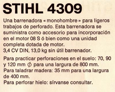 Stihl 4309
