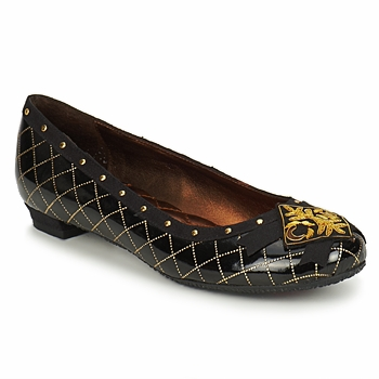 cafe noir ballerina pumps
