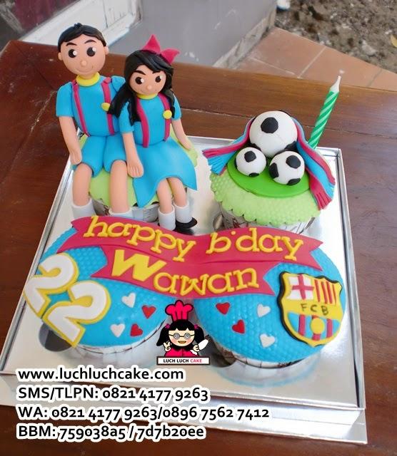 Cupcake Barcelona Daerah Surabaya - Sidoarjo
