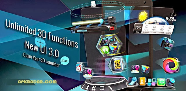 Next Launcher 3D Apk 3.0.1