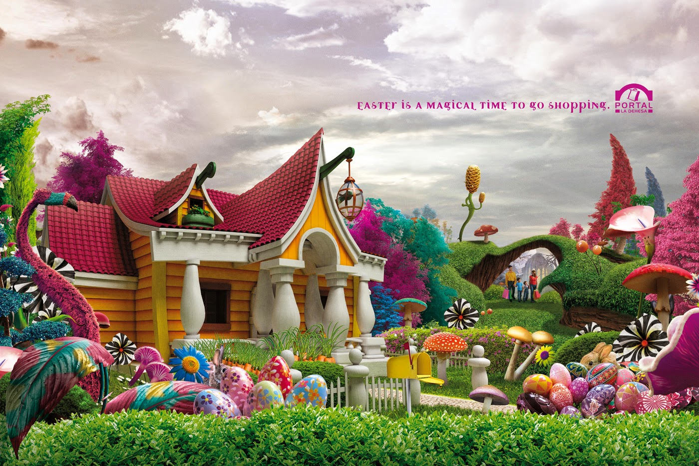 Publicidad Creativa, Pascua, Portal La Dehesa