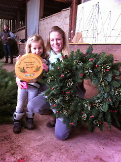 Prize winning Christmas wreath