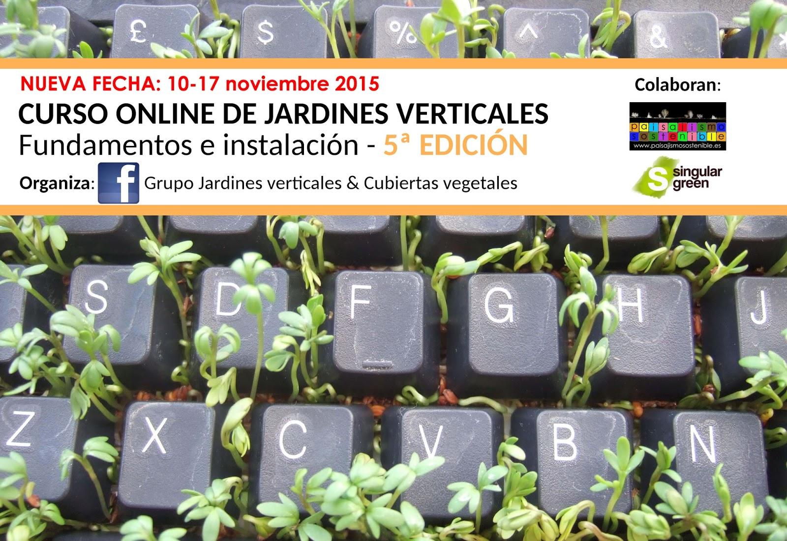 curso online jardines verticales