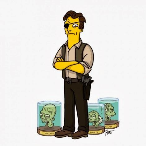 The Walking Dead a Springfield - Il Governatore