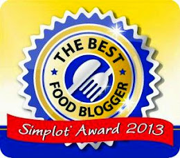 Simplot Food Blogger 2013 Award