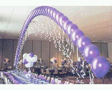 Decoración de Eventos con Arcos de Globos, parte