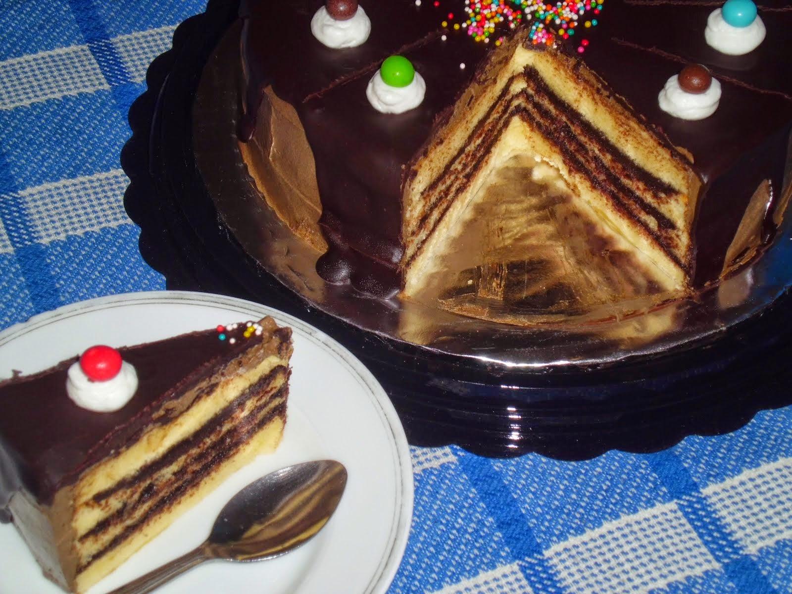 Cake Lapis Coklat