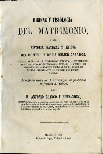 1853 HIGIENE EN EL MATRIMONIO