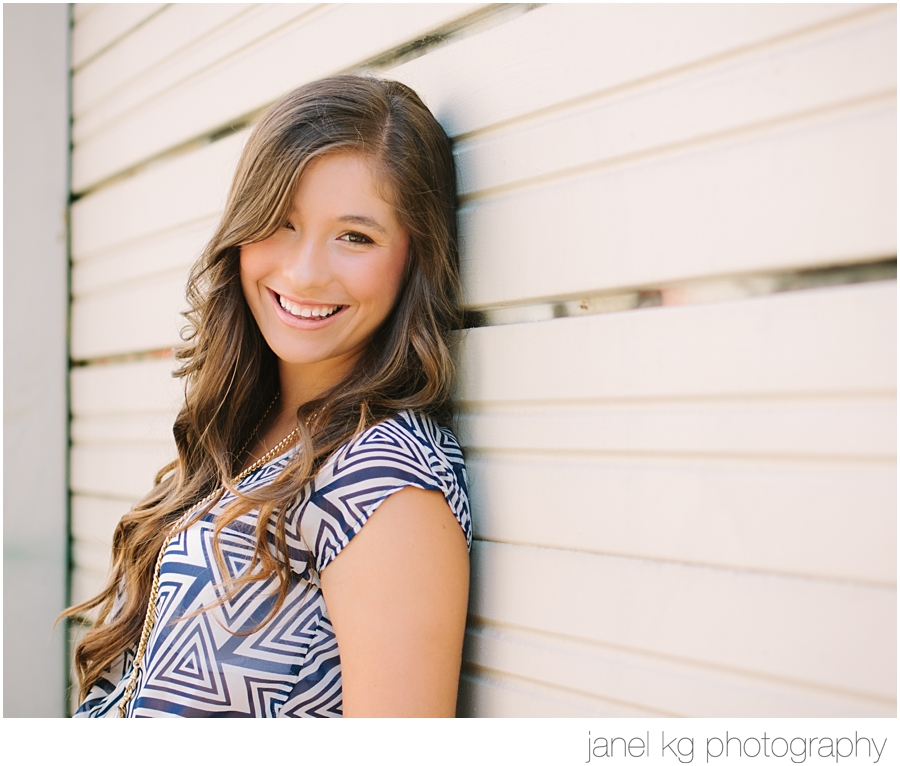 Elizabeth's smile is gorgeous for her sacramento senior portraits
