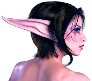 orejas de latez para disfraz de elfa oscura