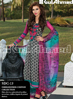Gul Ahmed Summer Collection 2013