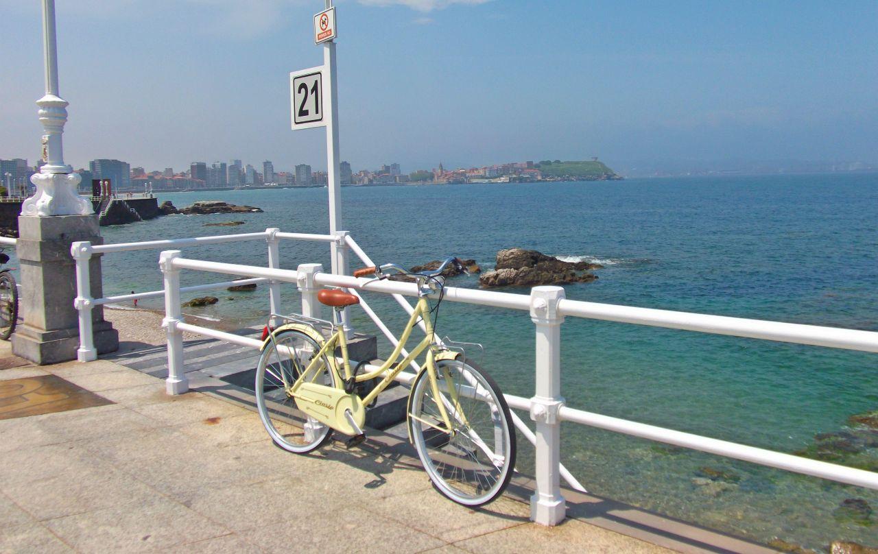 Rutas senderismo y bici de Gijon