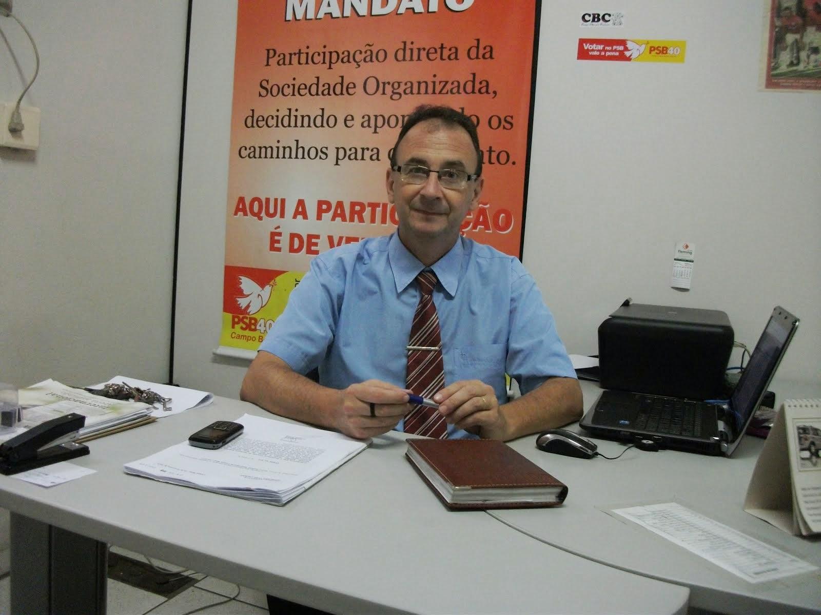 VEREADOR PEDE MELHORIAS NO LABORATÓRIO DO HOSPITAL