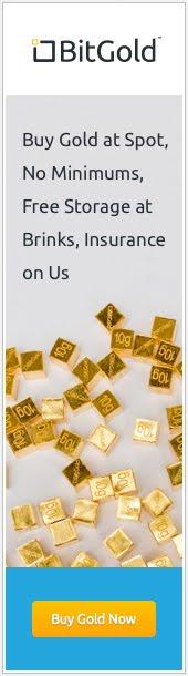 Regístrate en BitGold y recibe tus primeros 0.25 gramos de oro (9 euros) GRATIS