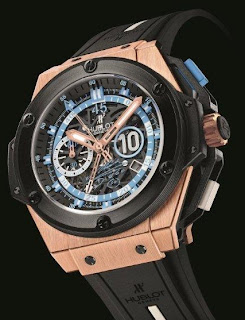 Montre Montre Hublot King Power Maradona or  référence 716.OM.1129.RX.DMA12