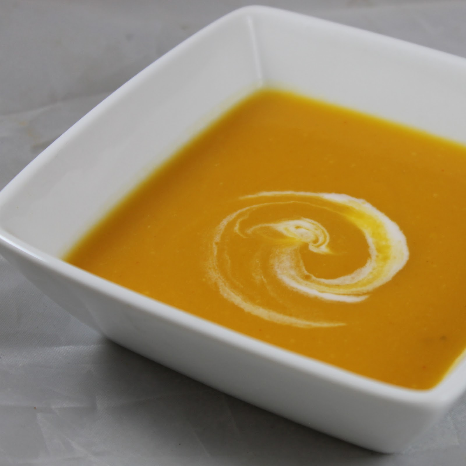 Jalapeño-Ginger Butternut Squash Soup | I Can Cook That