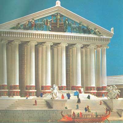 El Templo de Artemisa en Turquía