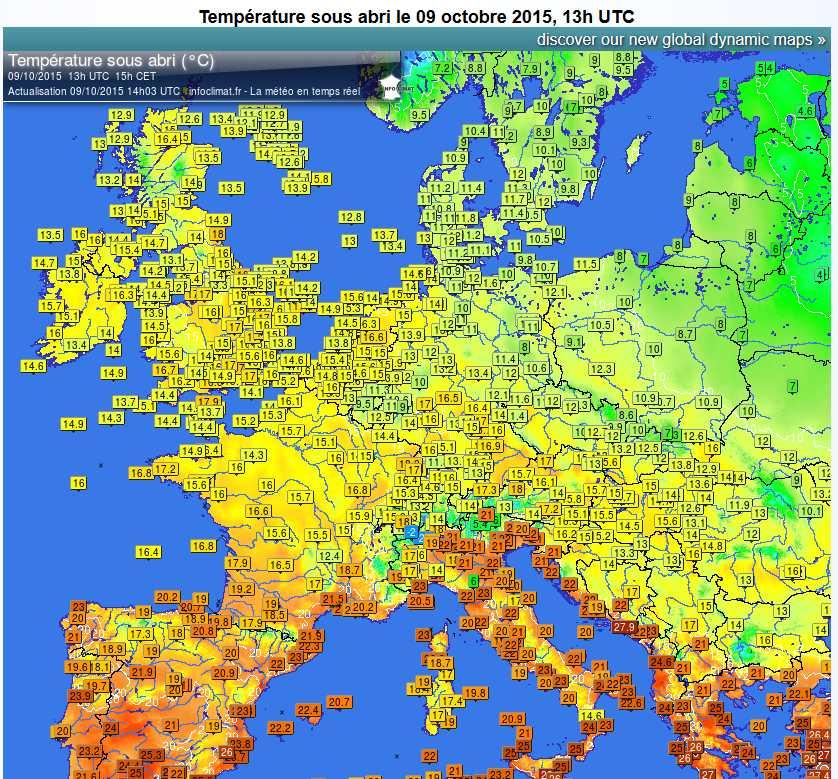Carte De Leurope Meteo.Actualites Page 10 Sur 20 Info Meteo