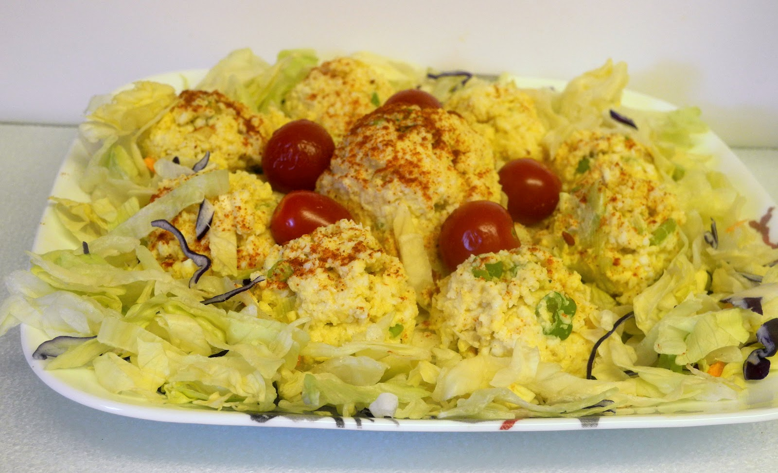 My Sweet and Savory: Curried Egg Salad