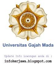 Lowongan Kerja Universitas Gadjah Mada (UGM) Yogyakarta
